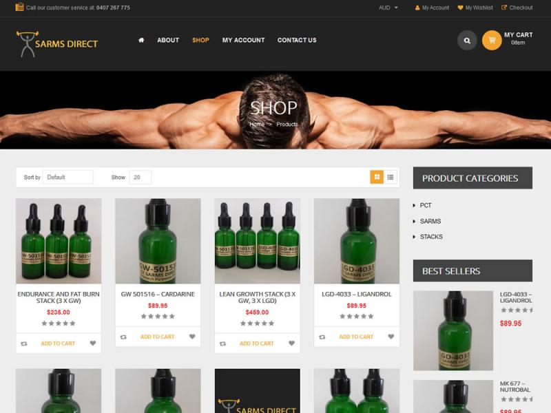 Sarms Direct - Shop
